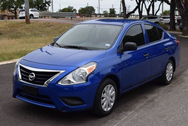 2015 Nissan Versa 1 6 S Plus Cvt For Sale In Austin Tx