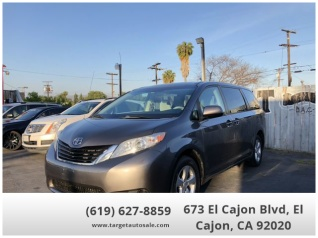 Used Toyota Sienna For Sale >> Used Toyota Siennas For Sale In Del Mar Ca Truecar