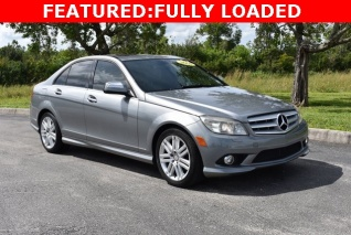 High Quality Used 2008 Mercedes Benz C Class C 300 Luxury Sedan RWD For Sale In