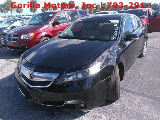 2013 Acura TL FWD Automatic For Sale In Dumfries VA