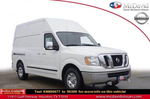 2019 Nissan NV NV3500 HD SL