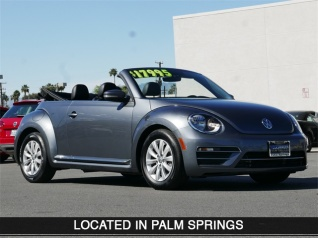 2017 Volkswagen Beetle 1 8t S Convertible Auto For In Cathedral City Ca