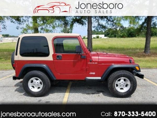 1998 jeep wrangler se for sale in jonesboro ar truecar. Black Bedroom Furniture Sets. Home Design Ideas