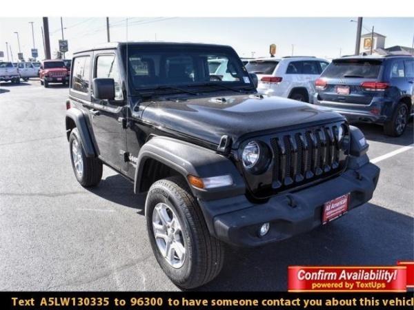 2020 Jeep Wrangler in Midland, TX