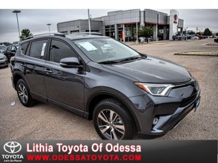 Used 2017 Toyota RAV4 XLE FWD For Sale In Odessa, TX