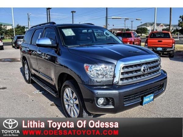 2017 Toyota Sequoia in Odessa, TX