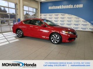 Used 2016 Honda Accord LX S Coupe I4 CVT For Sale In Scotia, NY