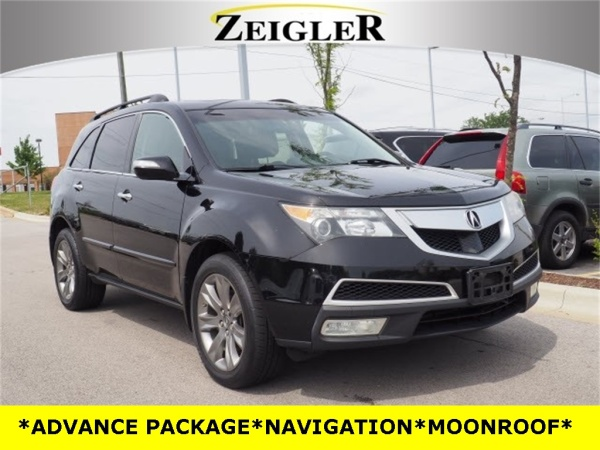 Acura Orland Park >> 2011 Acura Mdx With Advance Package For Sale In Orland Park