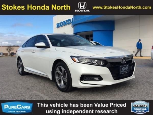 Honda Dealership Charleston Sc >> 2018 Honda Accord Ex 1 5t Cvt For Sale In N Charleston Sc Truecar