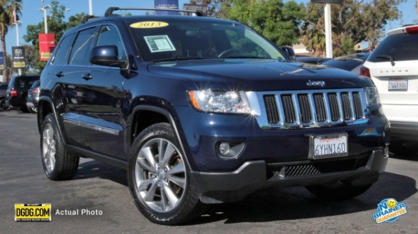 2013 Jeep Grand Cherokee Dealer Inventory In Mountain View, CA (94035)  [change Location]