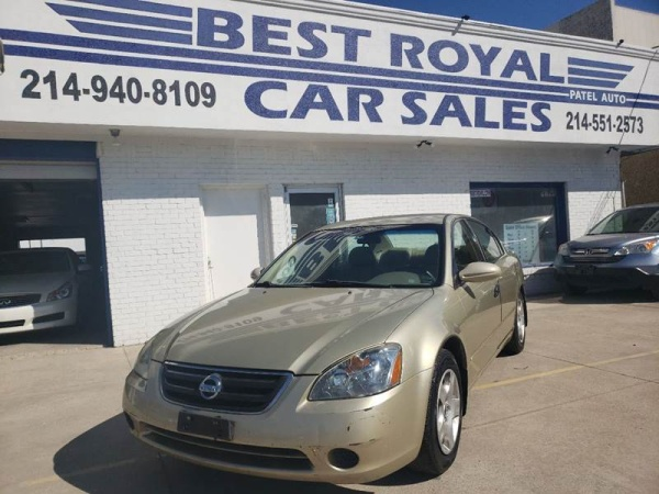 2002 Nissan Altima in Dallas, TX