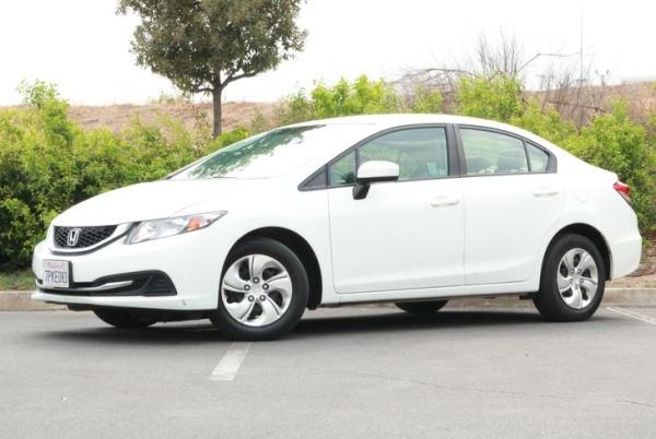 2015 Honda Civic LX Sedan CVT For Sale in Norco, CA ...