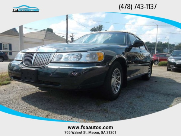 2002 Lincoln Town Car Signature For Sale In Macon Ga Truecar