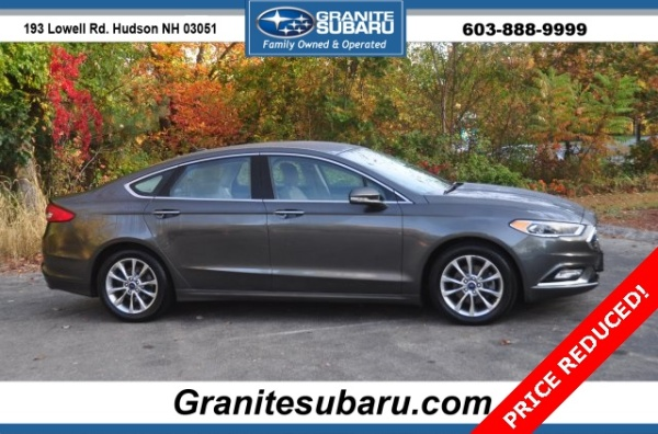 2017 Ford Fusion in Hudson, NH