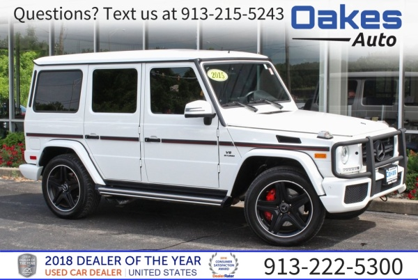 2015 Mercedes Benz G Class G 63 Amg 4matic For Sale In Kansas City