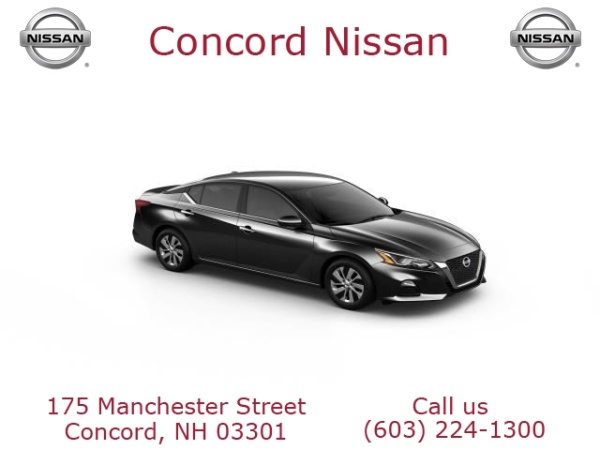 2019 Nissan Altima in Concord, NH