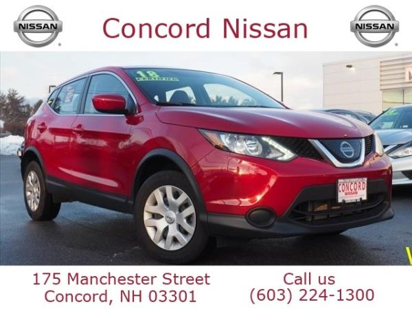 2018 Nissan Rogue Sport in Concord, NH