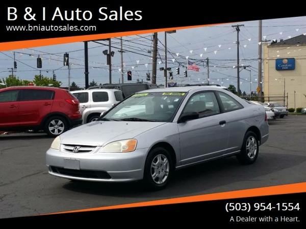 2001 Honda Civic Lx Coupe Manual For Sale In Portland Or Truecar Rh Truecar  Com 2001