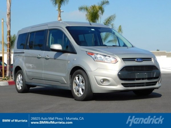 2016 Ford Transit Connect Wagon 4dr Lwb Anium W Rear