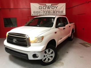 2010 toyota tundra crewmax 5 5' bed flex fuel 5 7l v8 4wd for sale in