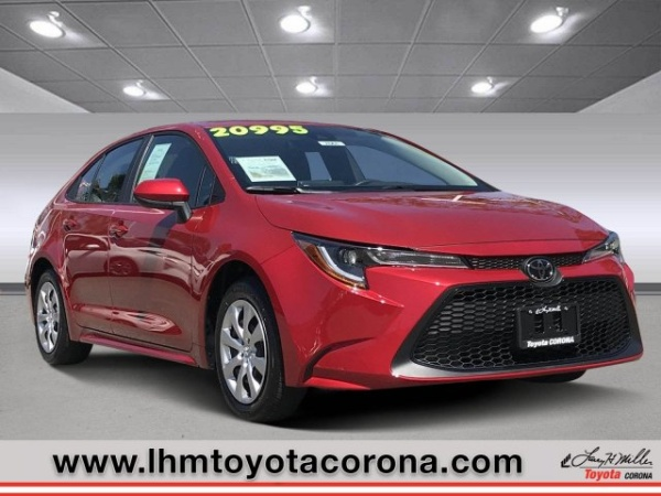 2020 Toyota Corolla in Corona, CA
