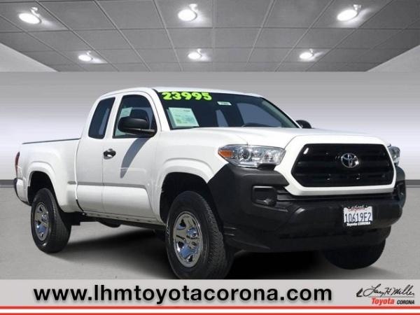 Larry H Miller Toyota Corona >> 2017 Toyota Tacoma Sr5 Access Cab 6 1 Bed I4 Rwd Automatic