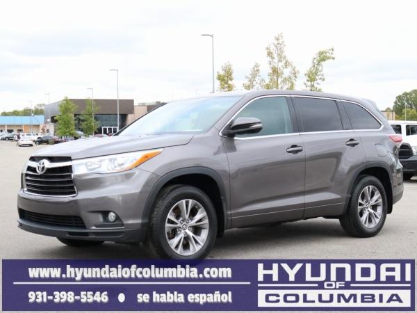 2016 Toyota Highlander in Columbia, TN
