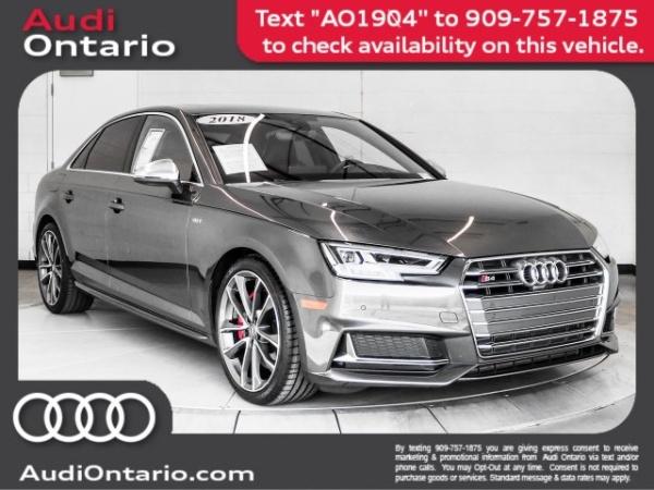 2018 Audi S4 in Ontario, CA