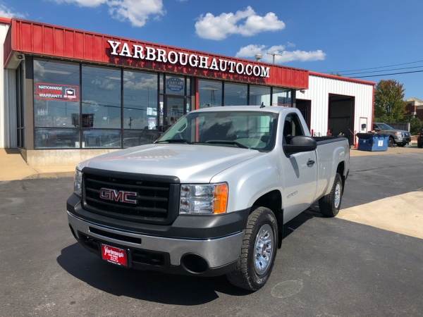 2011 gmc sierra 1500 work truck reg cab lb 4wd for sale in harrison ar truecar. Black Bedroom Furniture Sets. Home Design Ideas