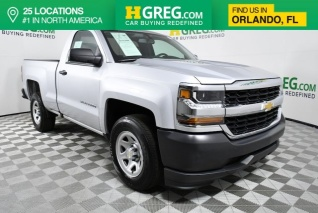 2017 Chevrolet Silverado 1500 Work Truck Regular Cab Standard Box 2wd For In Orlando