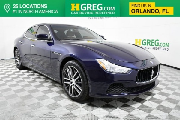2015 Maserati Ghibli Sedan RWD
