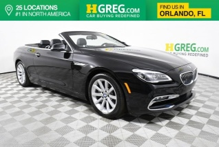 2017 Bmw 6 Series 640i Convertible For In Orlando Fl