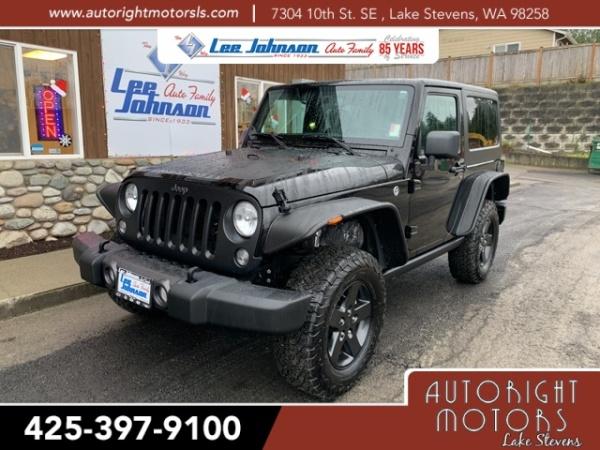 2017 Jeep Wrangler in Lake Stevens, WA