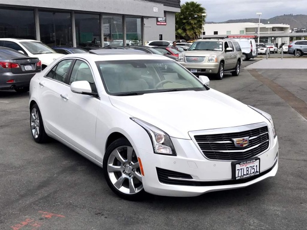 2016 Cadillac ATS Luxury Collection