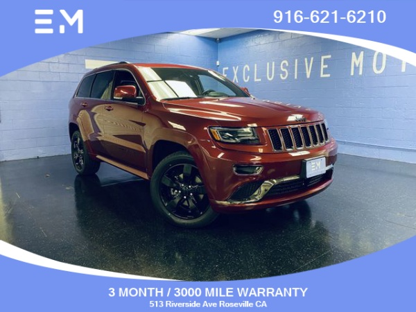 2015 Jeep Grand Cherokee in Roseville, CA