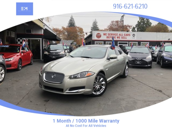 2012 Jaguar XF with Sport Package