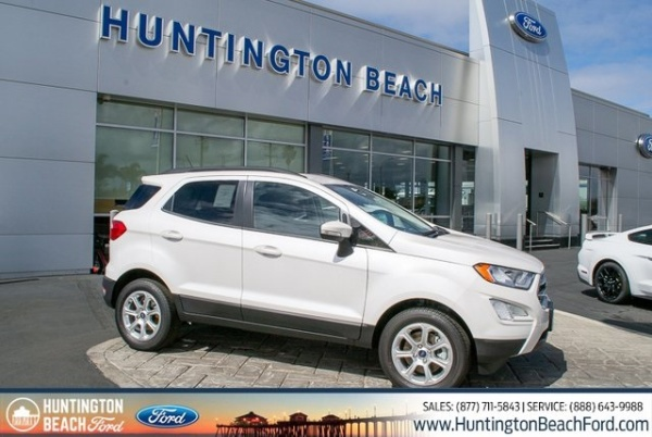 Beach Ford Service >> 2019 Ford Ecosport Se Fwd For Sale In Huntington Beach Ca