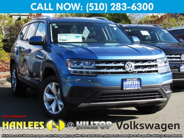 2019 Volkswagen Atlas V6 S