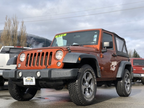 2014 Jeep Wrangler in North Bend, WA
