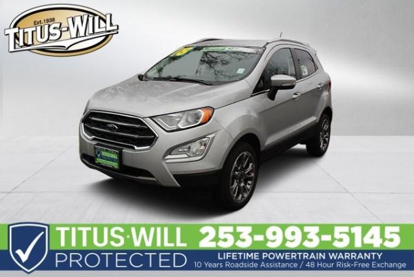 2018 Ford EcoSport in Tacoma, WA
