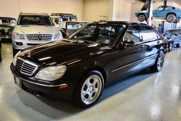 2002 Mercedes-Benz S-Class S 500