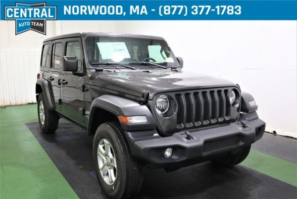2020 Jeep Wrangler in Norwood, MA