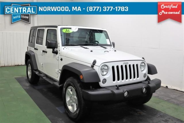 2016 Jeep Wrangler in Norwood, MA