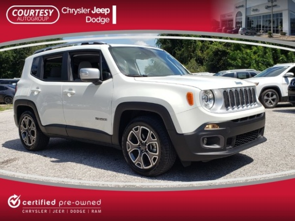 Jeep Dealership Tampa >> 2018 Jeep Renegade Limited Fwd For Sale In Tampa Fl Truecar