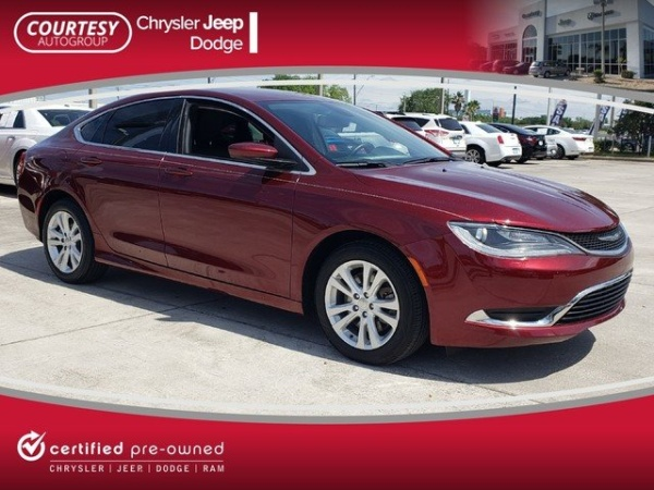 2017 Chrysler 200 In Tampa Fl