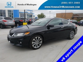Used 2014 Honda Accord EX L Coupe V6 Automatic For Sale In Muskogee, OK