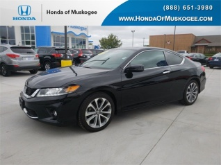 Used 2014 Honda Accord EX L V6 Coupe Automatic For Sale In Muskogee, OK