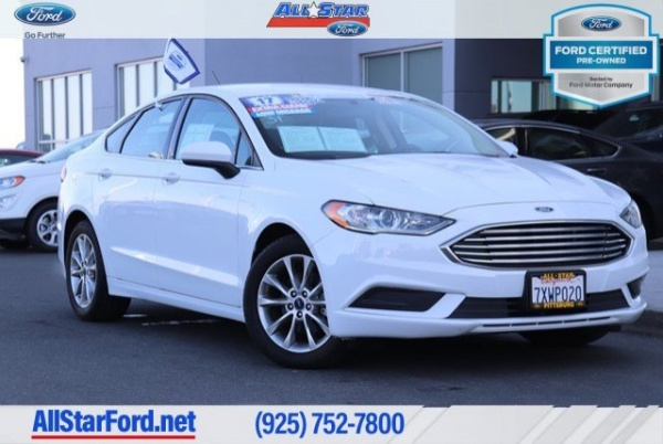 2017 Ford Fusion in Pittsburg, CA