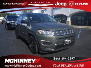 Used 2018 Jeep Compass Sport FWD For Sale In Easley, SC
