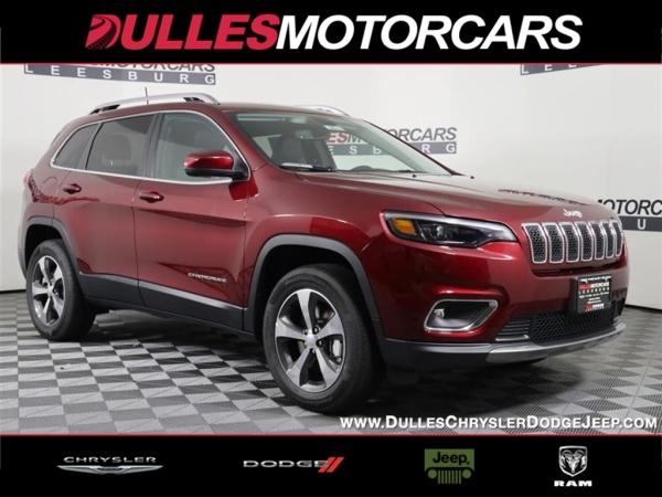 2020 Jeep Cherokee in Leesburg, VA